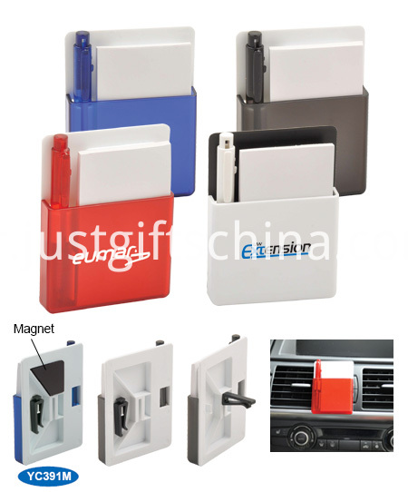 Promotional Magnetic Car Notes Box