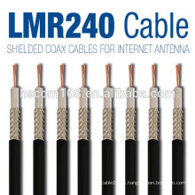 Cabo rg9 / rg6 coaxial / coaxial rg48 / rg58 / rg59 / rg123 cabo com conectores de cabo coaxial