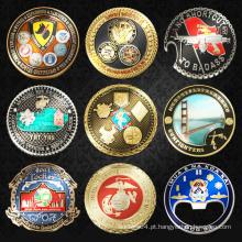 Moeda de lembrança, moedas de desafio personalizadas