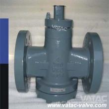 Válvula de enchufe lubricada de equilibrio de presión invertida (X47)
