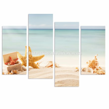 Nature Beach Painting Pictures Giclee Print Art Work for Living Room Decor