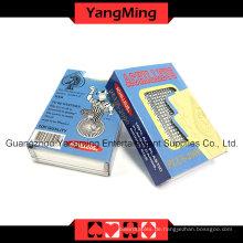 100% Plastik Poker Spielkarten Korea Import (YM-PC06)