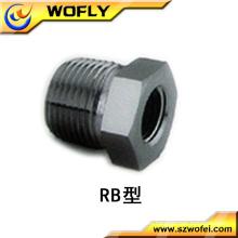 Ss 316L código hexagonal reductor de conexión de buje de alta calidad