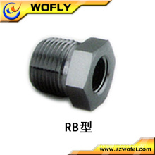 ss 316L hexagon head code reducing bushing connection high quality