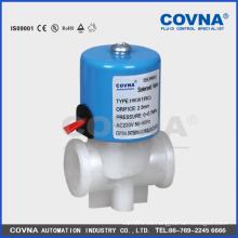 """Maquinaria RO válvula plástica, válvula de solenoide del agua 220V, micro 2position 2way cierre normal 1/4 """"válvula eléctrica"""