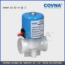 """Máquinas válvula de plástico RO, 220V válvula solenóide de água, micro 2position 2way fechar normal 1/4 """"válvula elétrica"""