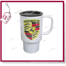 14oz White Stainless Steel-Full Mugs to Sublimate