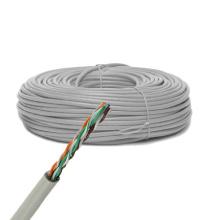 Cat5e UTP Solid Bare Copper Cable Ethernet 305m / 1000FT Boîte de traction