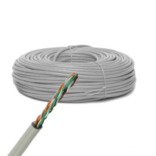 Cat5e UTP Solid Bare Cobre cabo Ethernet 305m / 1000FT caixa extraível