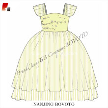 wholesale boutique remake kids dress sketches