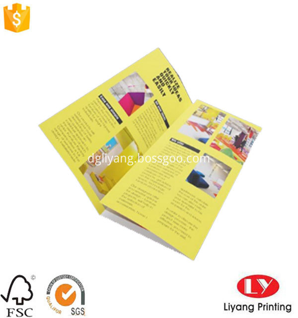 Folded Brochure Printing 3