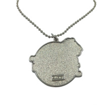 Dongguan Factory Pet Accessory Metal Dog Tag Necklace