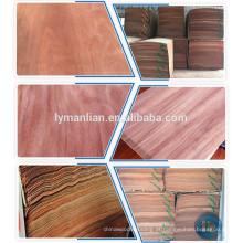 China folha de folheado de madeira fina