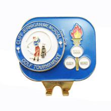 Golf magnético sombrero clip golf ball marker