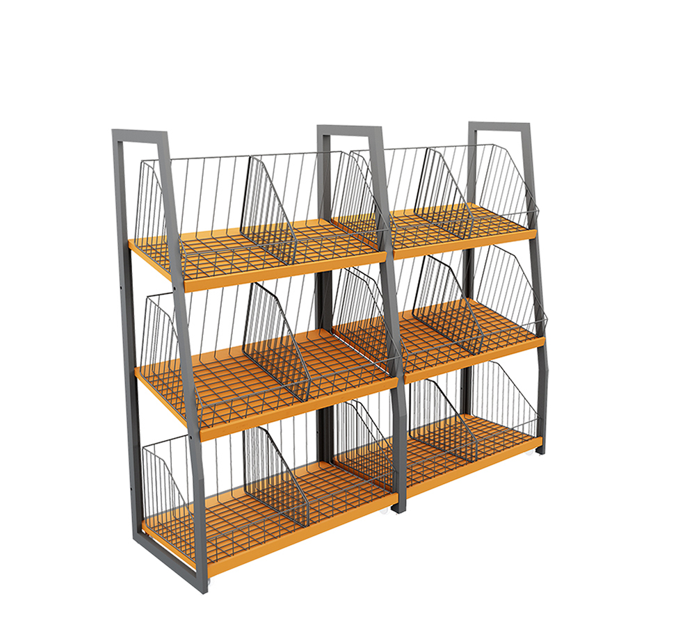 Simple Style Fruit Shelving Units