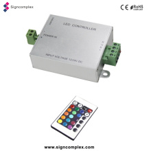 China 12V/24V DC LED Wonderful RGB Controller with FC CE RoHS