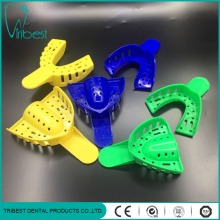 Denture Plastic Material Disposable Impression Teeth Trays