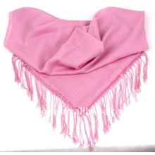 100%wool plain scarfs shawl pink pashmina