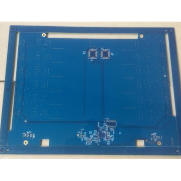 4 layer 1.6mm Blue solder ENIG circuit board makers