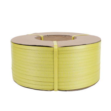 PP strapping roll yellow plastic strap