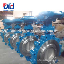 Pneumatic Actuated Apollo High Temperature Cast Steel Lug Butterfly Valve Sizes, Butterfly Valve Gear