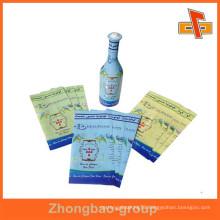 China manufacturer/supplier wholesale juice plastic bottle labels