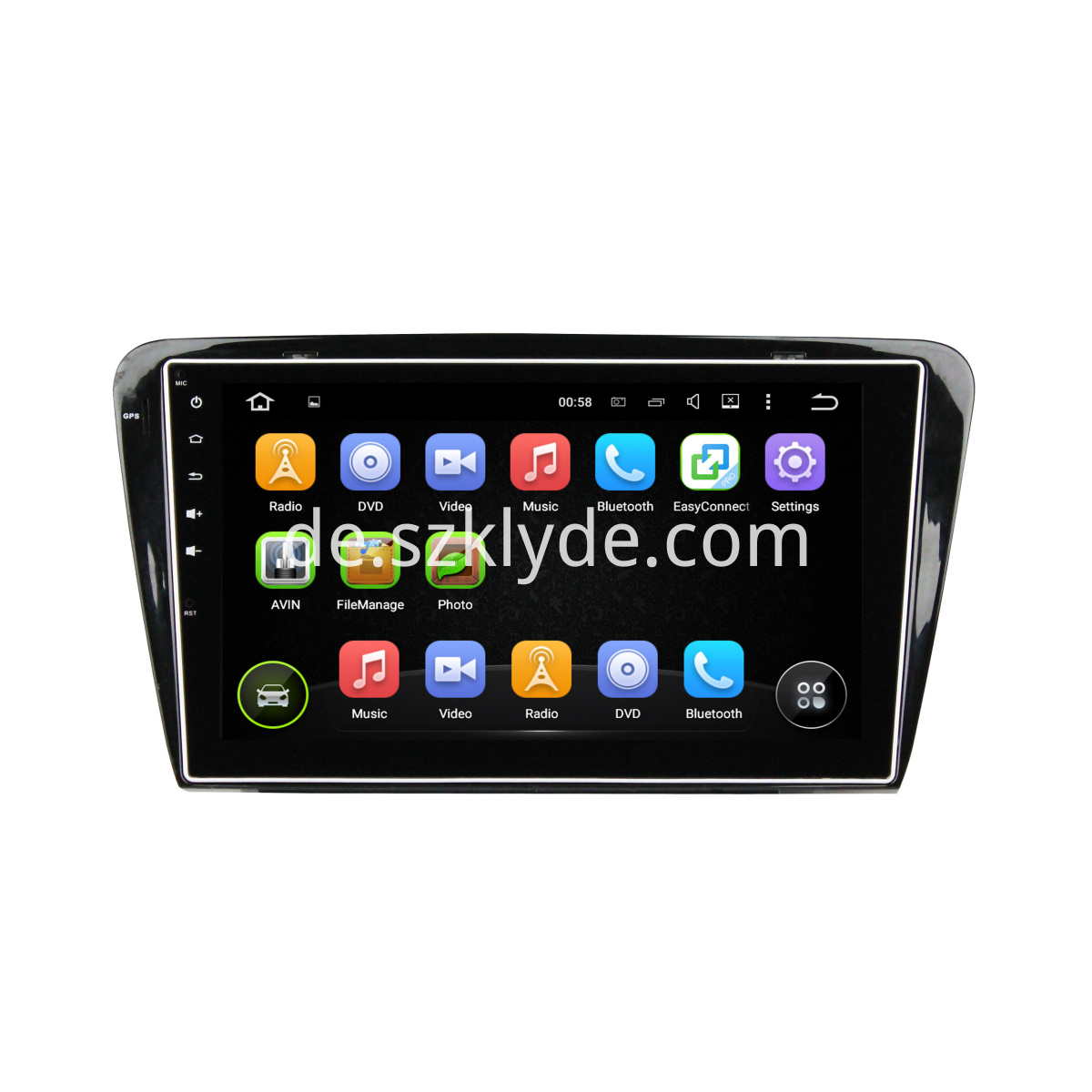 Octavia Android Car DVD