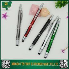 Stylet stylo en aluminium pour Galaxy Tab, Ipad, téléphone,