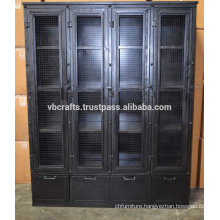 Industrial Vintage Metal Wardrob Unique Design
