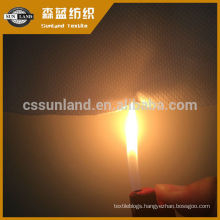 100% polyester Flame retardant bird 's-eye functional fabric
