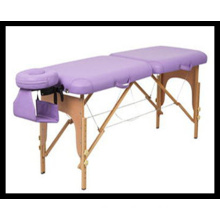 2 Sections Wooden Massage Table (MT-4) Acupuncture