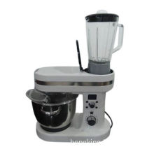 Heating stand mixer with soup maker, 60mins timer, 5.5L bowl, 10 speed with pulse function