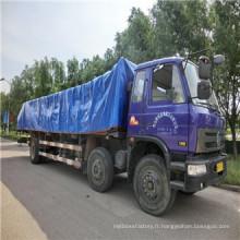 Bâche de PE avec le prix bon marché et la qualité pour la couverture de camion