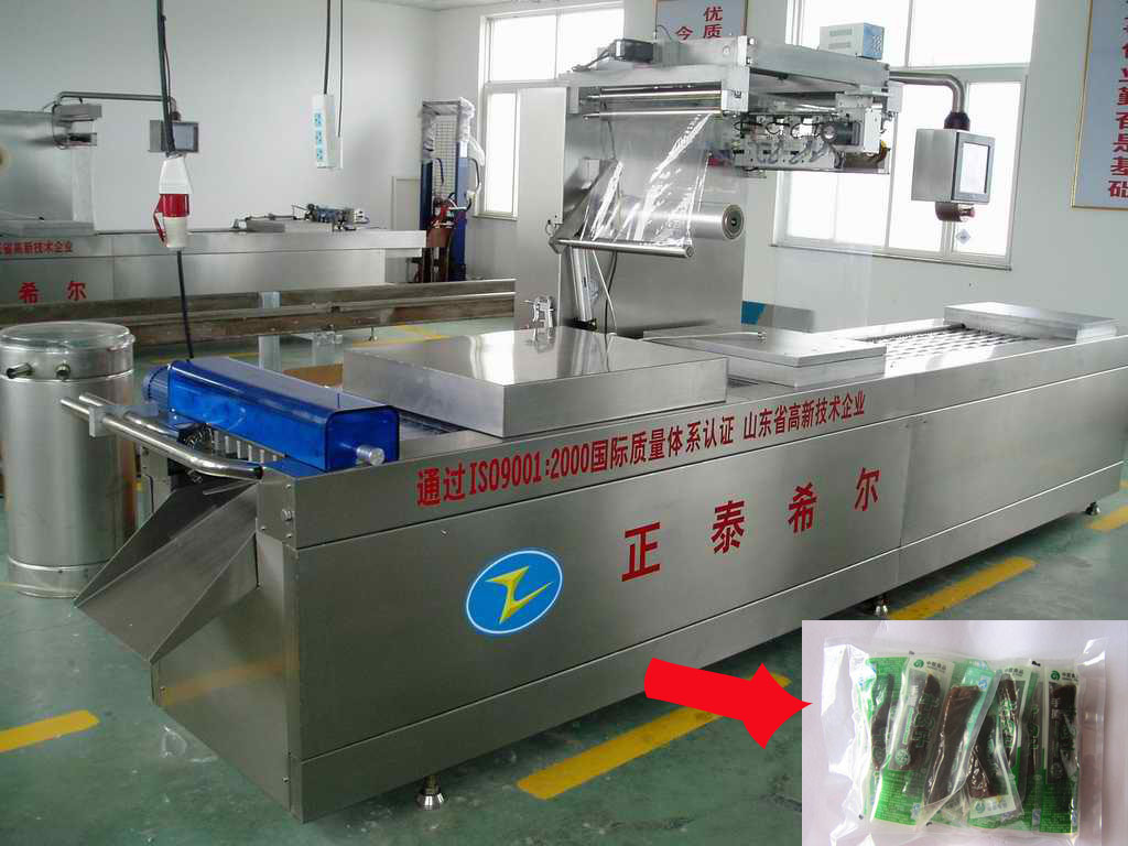 beef meat thermoforming vacuum packing machine for dates food, seeds, nuts etc