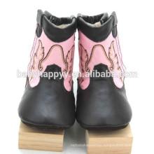 Best Selling Cute Fancy girls prewalker leather baby shoes winter