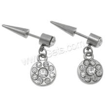 Gets.com stainless steel plug tunnel piercing