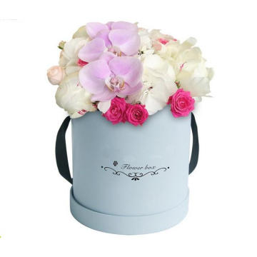 Large+Size+Round+Flower+Packaging+Box