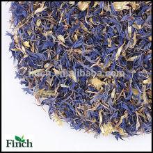 Getrockneter Kornblume-Blumen-Kräutertee, getrockneter Centaury-Blumen-Kräutertee, getrockneter Bluebonnet-Blumen-Kräutertee