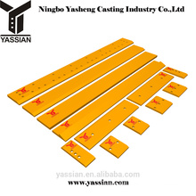 YASSIAN Heavy machinery parts motor grader cutting edges accessories parts
