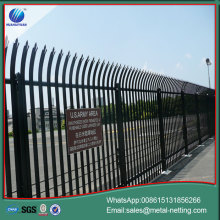 steel palisade fence metal steel fencing