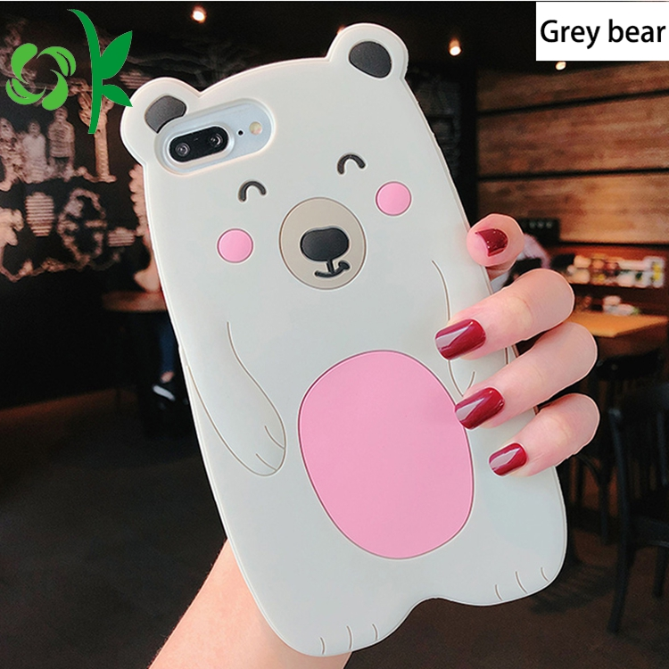 Bear Shape Silicone Phone Case