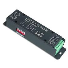 Alta qualidade LED RGB 3CH CV DMX decodificador, 5 anos de garantia, saída máxima de 432W