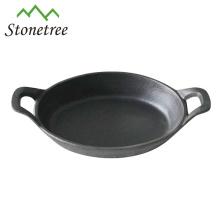 Frigideira do frigideira do Cookware do mini ferro fundido