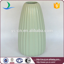hot selling fashionable home decor light green ceramic vase