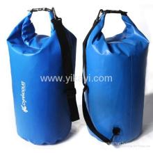 Werbe-Camping 20 Liter PVC wasserdichte trockene Rucksack Tasche (YKY7205)