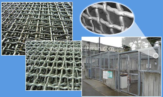 Mesh Wire Crimped