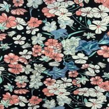 Элегантная цветочная цифровая печать из вискозы для женских платьев