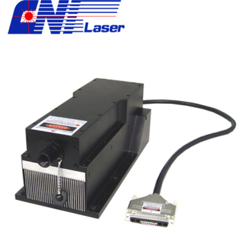 Laser ardente do poder superior verde 556nm