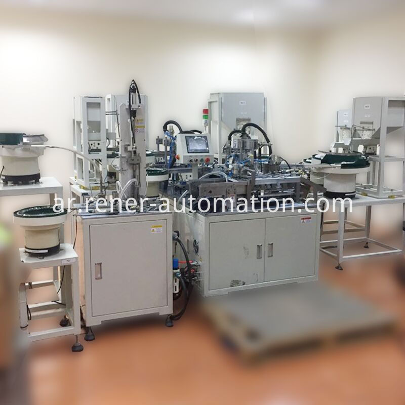 Water Inlet Assembly Equipment
