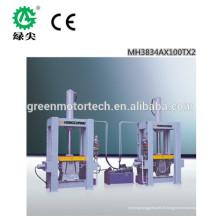 Facile d'opération haute fréquence incurvée formant la presse en bois / machine courbée de presse de contreplaqué avec le bon service après-vente